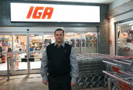 Clément Breton est le nouveau propriétaire d'IGA Chibougamau