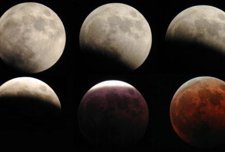 Observation d'une éclipse de lune ce dimanche