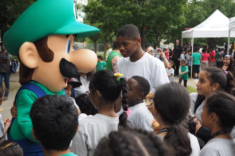 Nintendo: Mario Bros et Luigi dans une école primaire de Montréal