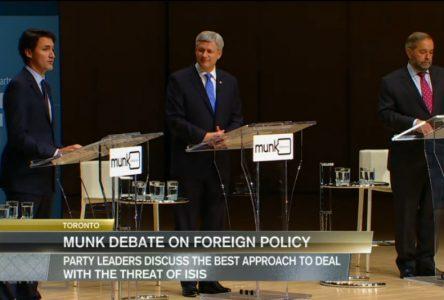 Les chefs débattent de politique étrangère