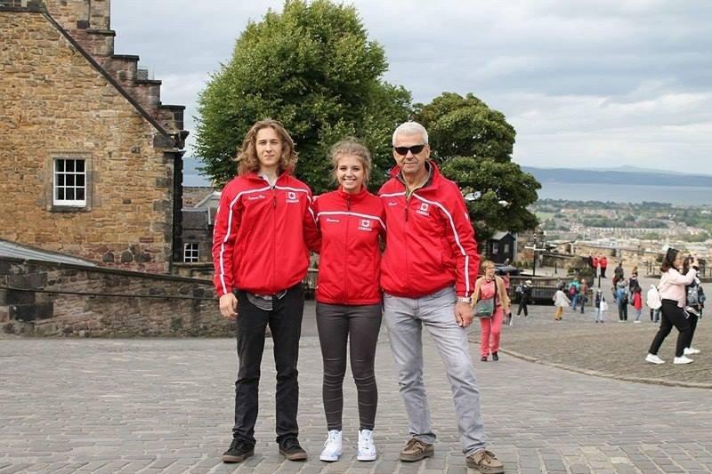 Deux Chibougamois font bonne figure en Écosse