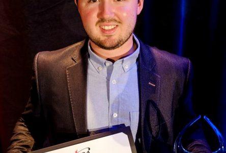 Pierre-Alexandre Bédard choisi meilleur golfeur de l'année