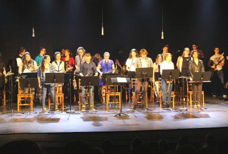 Spectacle de l'harmonie scolaire à la PDN : Un spectacle à saveur rock