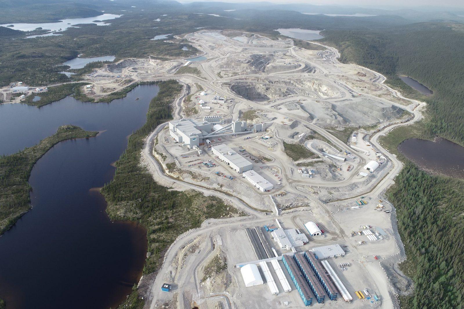 Stornoway atteint la pleine capacité de sa mine souterraine