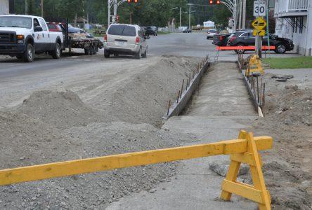 Importants travaux d'amélioration un peu partout dans la ville