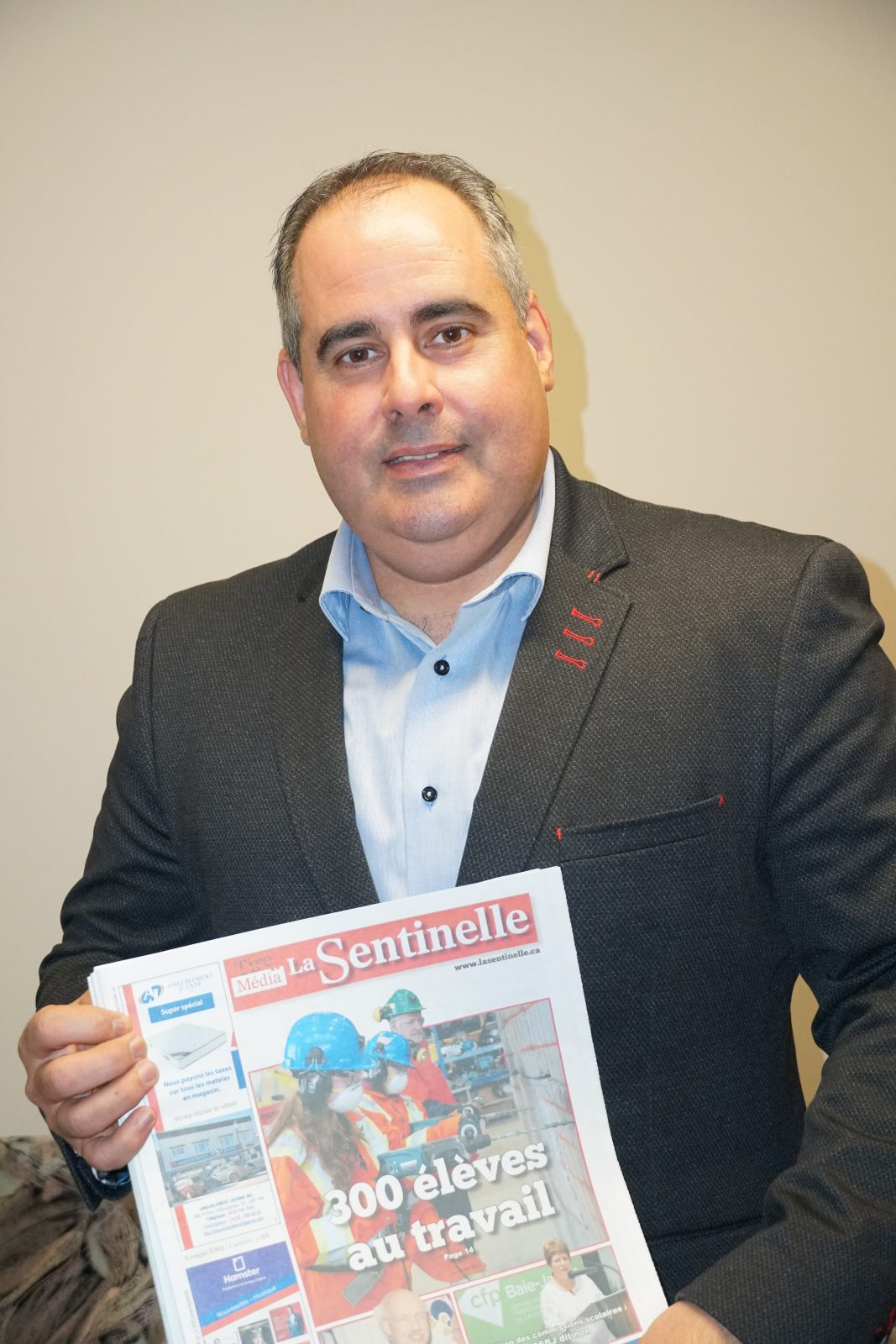 « Je veux être un député très présent » – Martin Ferron
