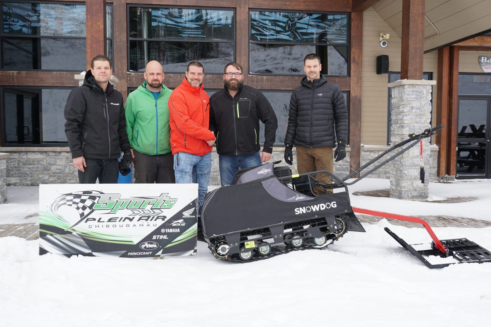 Un nouveau Snowdog pour l'entretien des pistes de fat-bike