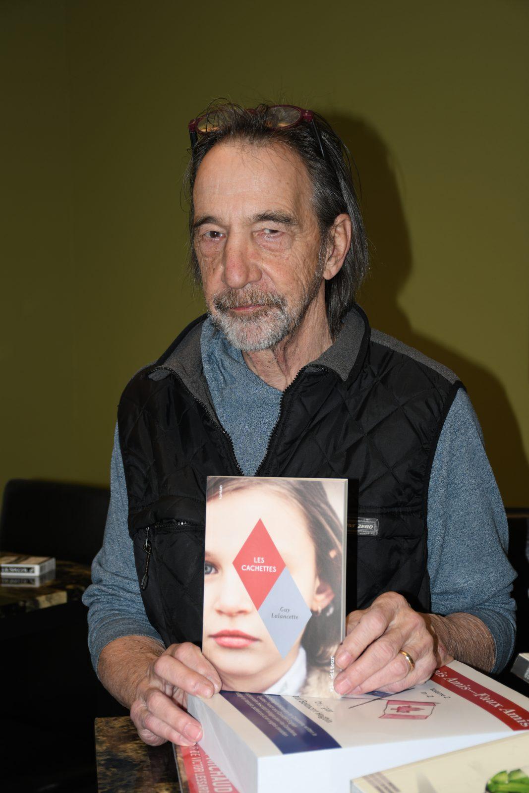 Guy Lalancette publie son septième livre