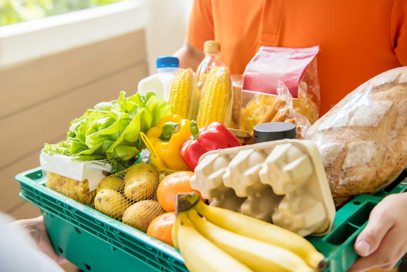 Un service d'aide alimentaire d'urgence pour ceux dans le besoin