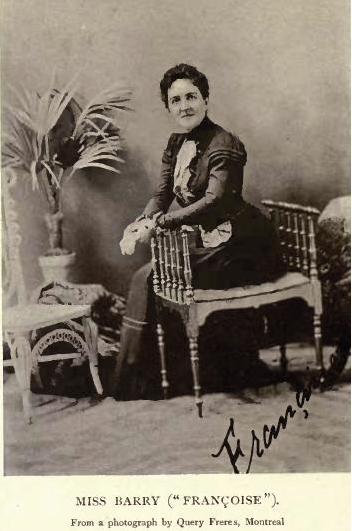 Robertine Barry : première femme journaliste du Québec