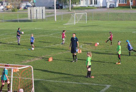 Retour sur le terrain pour le soccer de Chibougamau