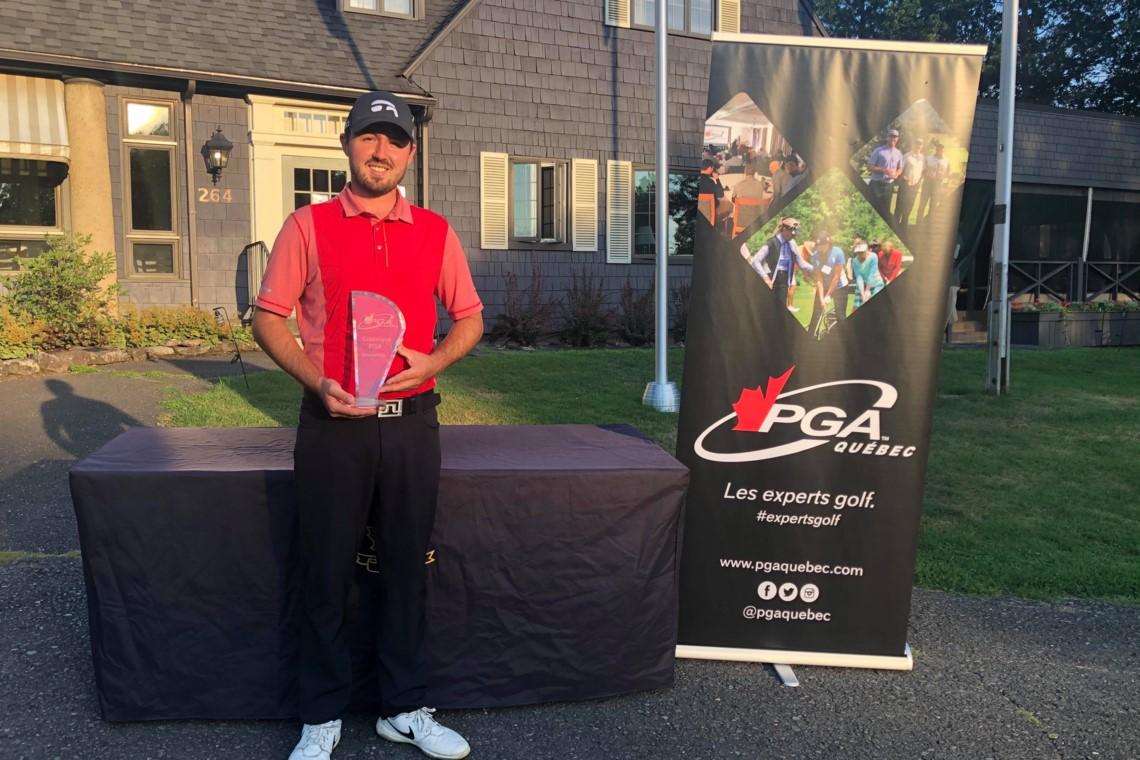 P.-A. Bédard remporte la Classique PGA du Québec Knowlton