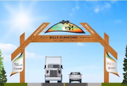 Vers la route Billy-Diamond